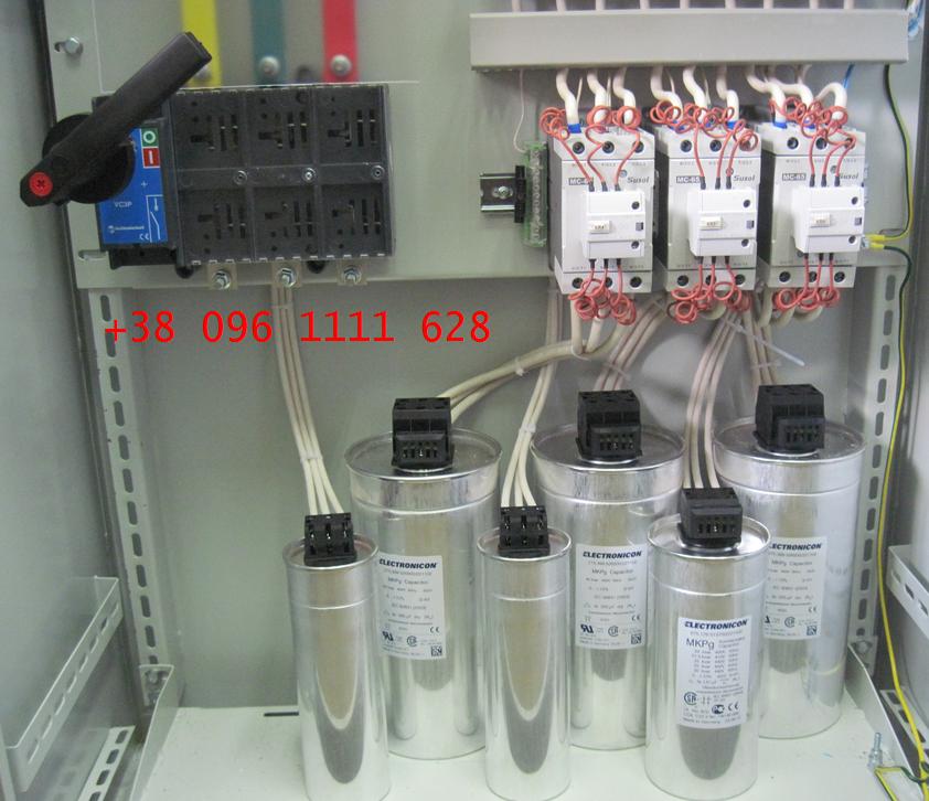 Компенсация реактивной мощности- конденсаторы  Electronicon