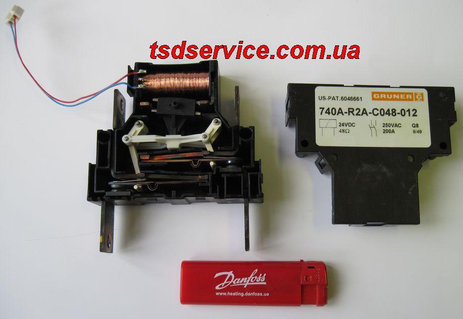 Пристрої плавного пуску Данфосс (Danfoss) – обвідний контактор